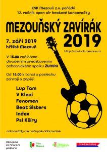 Plakát Zavírák 2019