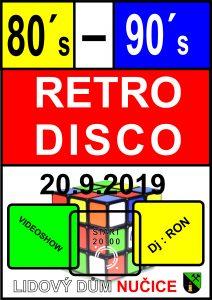 Plakát Retro disco