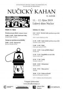 Plakát Nučický kahan 2019
