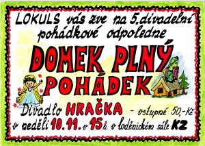 Plakát Domek plný pohádek