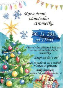 Plakát Stromeček 2019