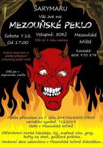 Plakát Mezouňské peklo