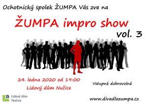 Plakát Impro show 3