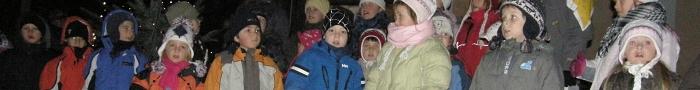 Rozsvícení vánočního stromečku 2010